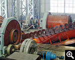 Site Install autogenous mill-grinding system