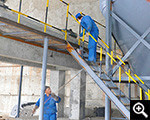 Site Install deep cone thickener