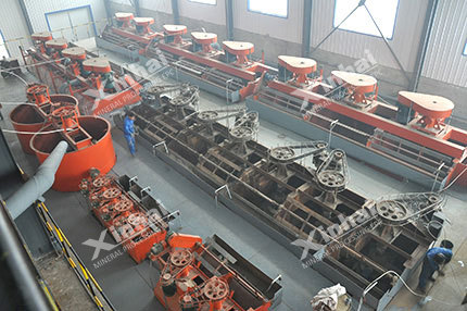 Molybdenum Dressing Production Line