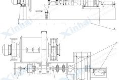 Structure_Grid Type Ball Mill