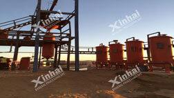 Sudan 100t/d CIL gold CIP project