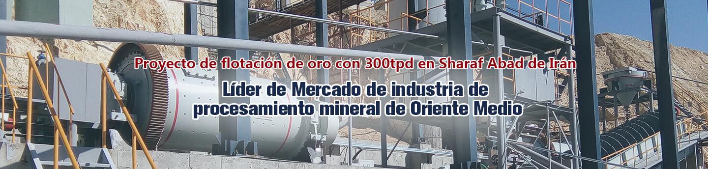 Xinhai Iran Arasbaran 300t/d Gold Flotation Project