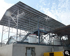 Dos plantas de sistema de electrólisis de desorción fueron compradas por una planta de mineral de oro en Tanzania