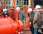 Clients inspected Xinhai production equipment