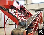 Operation test of Xinhai belt conveyer