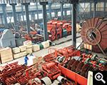 Equipment storage area