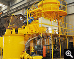 Special experiment equipment of tailings dry stacking