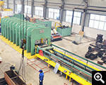 The domestic largest rubber vulcanizing machine (9.26×1.26) customized by Xinhai