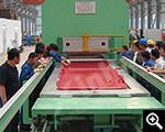 Vulcanized wear-resistant rubber