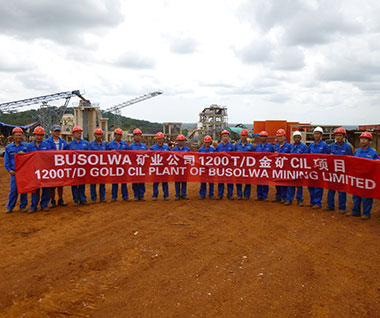 Busolwa 12000TPD Gold CIL Plant Project