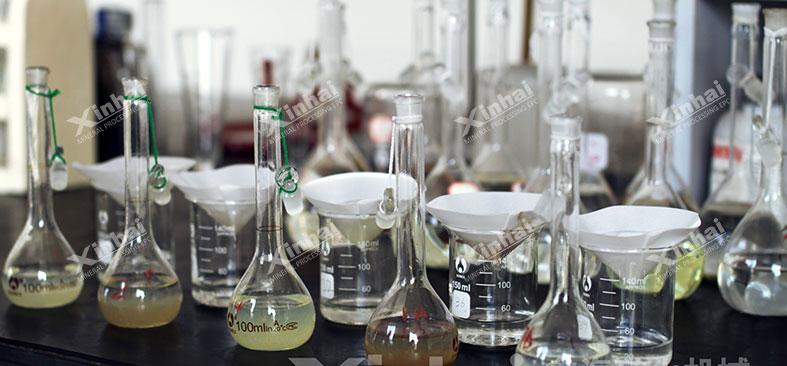mineral process test