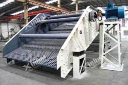 Auto Centering Vibrating Screen