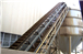 Belt Conveyor with High Inclination Angle and Waved Guard Side
