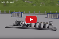 5td Mobile Gold CIL Plant for Gold Ore Processing