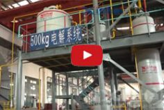 Desorption Electrolysis System Used for Gold Extraction