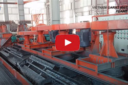 Vietnam Kra 800tpd Graphite Ore Processing Plant