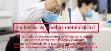 Xinhai mineral processing test