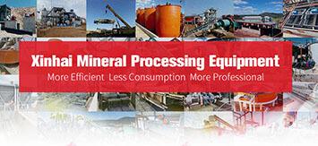 Equipos de Procesamiento de Mineral de Xinhai