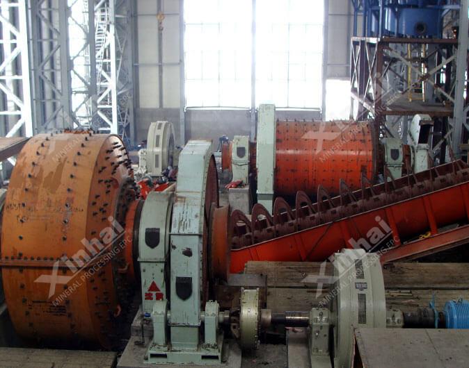 Planta de procesamiento de minerales Cu-Pb-Zn de 1500tpd en Armenia