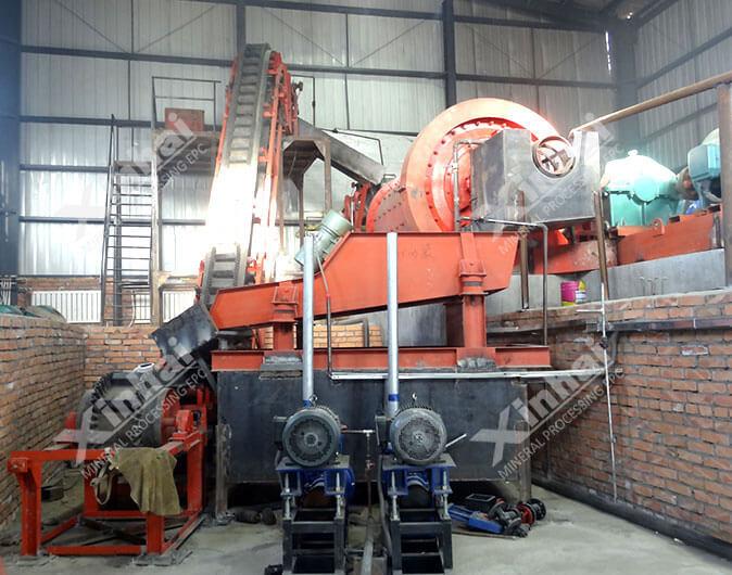 Planta de procesamiento de minerales tungsteno de 150tpd en Mongolia