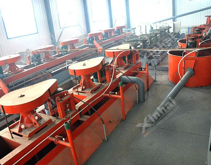 Planta de procesamiento de minerales molibdeno- tungsteno de 1300tpd en Shandong,China