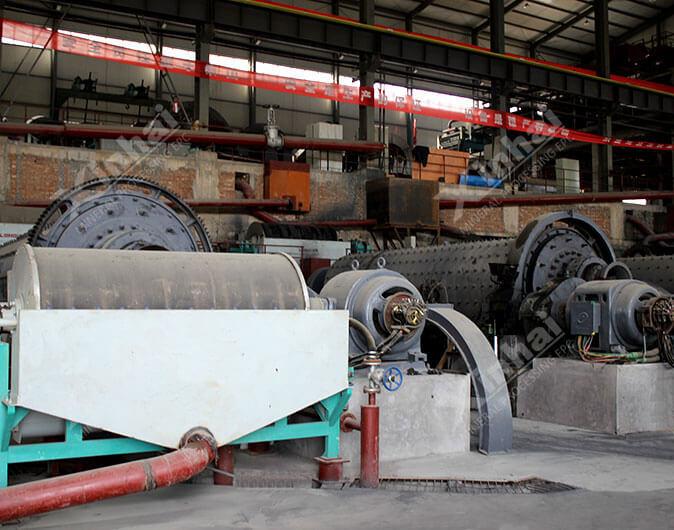 Planta de procesamiento de minerales hierro de 1200tpd en Shanxi,China