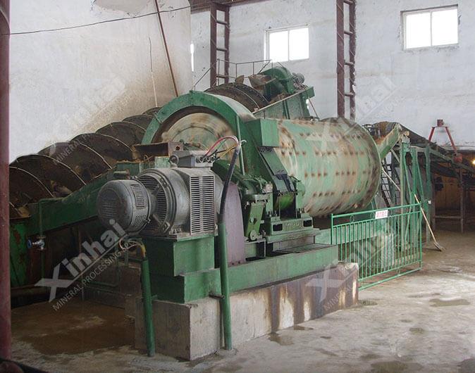 Planta de procesamiento de minerales fluorita de 700tpd en Mongolia Interior,China