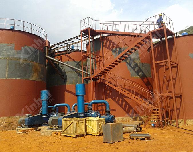 Planta de procesamiento de minerales oro de 700tpd en Sultán