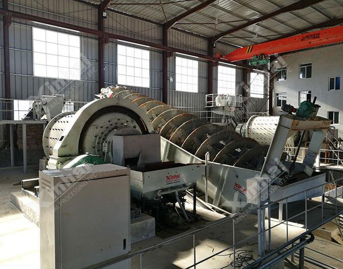 Planta de procesamiento de minerales plata de 500tpd en Marruecos